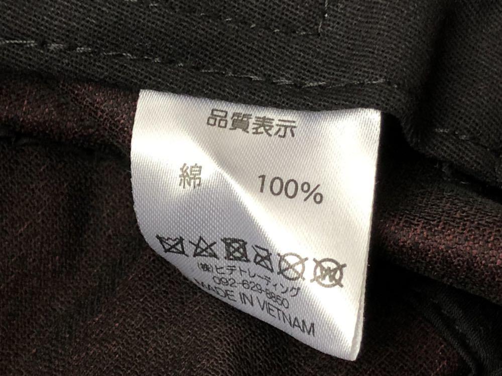 新品 未使用品 ニューヨークシティロゴ コーデュロイ バケットハット  帽子 HAT ワイン NEW YORK & CITY 新品大幅定価割れ 柳2199_画像6