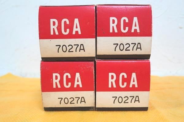 RCA 7027A 真空管4本 6L6GC互換 元箱付 未使用新品 McIntosh MC240_画像9