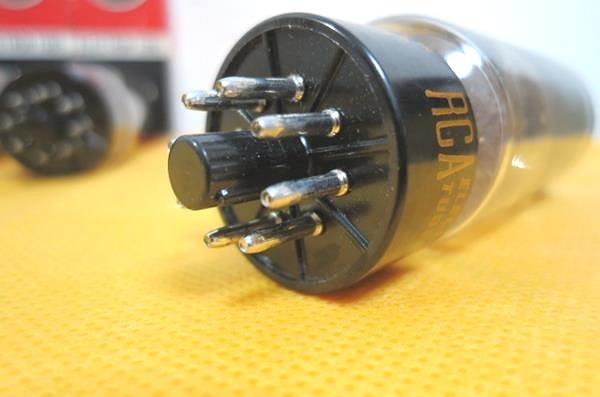 RCA 7027A 真空管4本 6L6GC互換 元箱付 未使用新品 McIntosh MC240_画像8