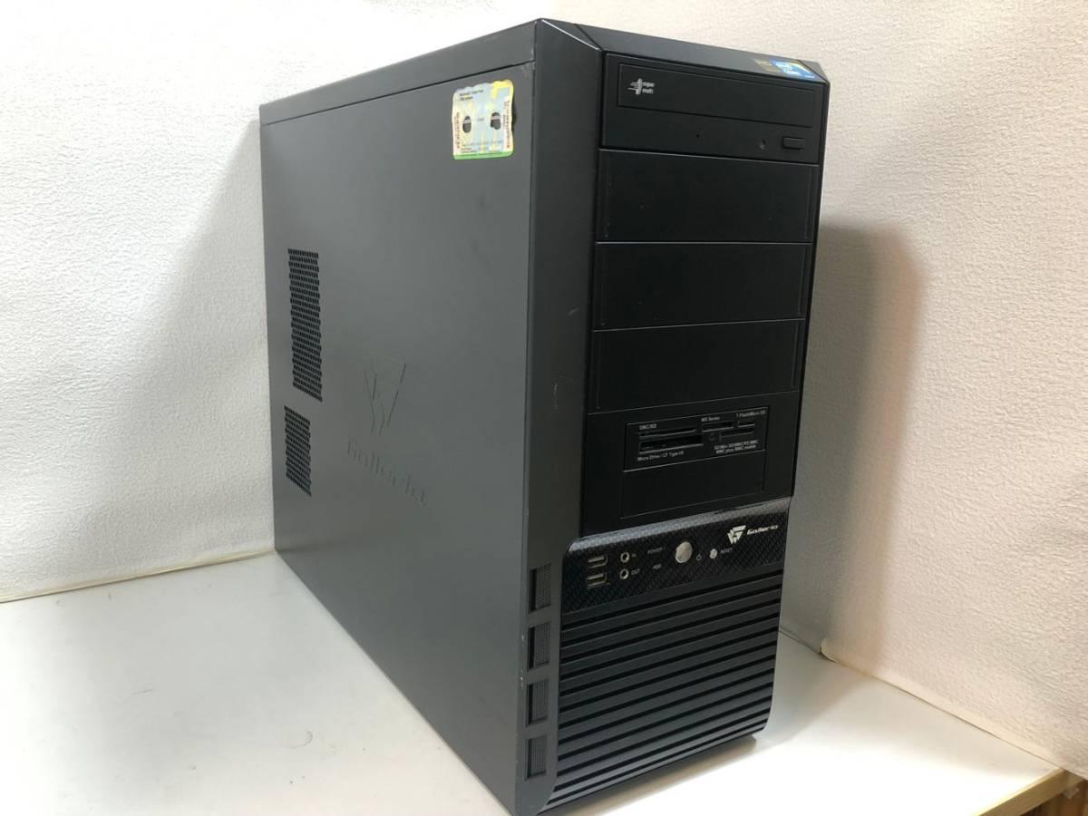 自作PC 新品SSD240GB+1000GB□Core i7 最大3.46GHz □メモリ 8GB □無線LAN □ZOTAC GTX550Ti □Win 10 □領域内蔵
