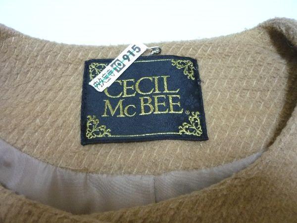 CECIL McBEE(セシルマクビー)ラインコート(ファー付き)サイズ:M