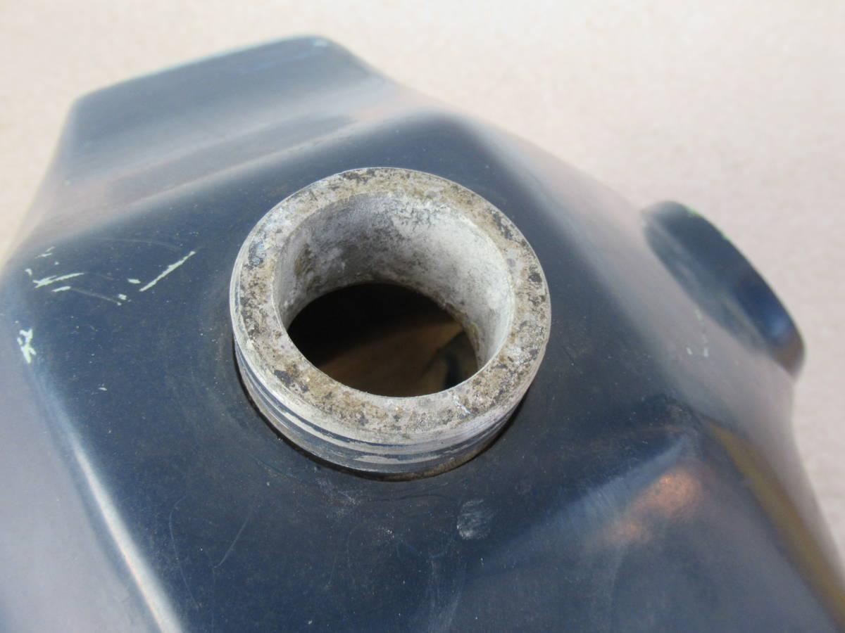 カワサキ KL250 FRP タンク ビッグタンク 中古品 当時物 KAWASAKI PLOT? プロト? ビンテージモトクロス KL250C? A5?_画像5