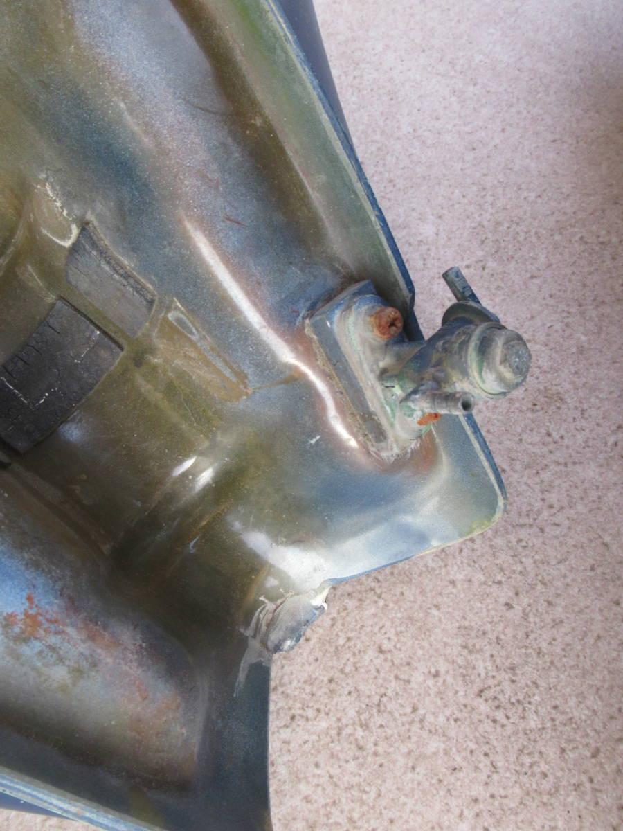 カワサキ KL250 FRP タンク ビッグタンク 中古品 当時物 KAWASAKI PLOT? プロト? ビンテージモトクロス KL250C? A5?_画像8