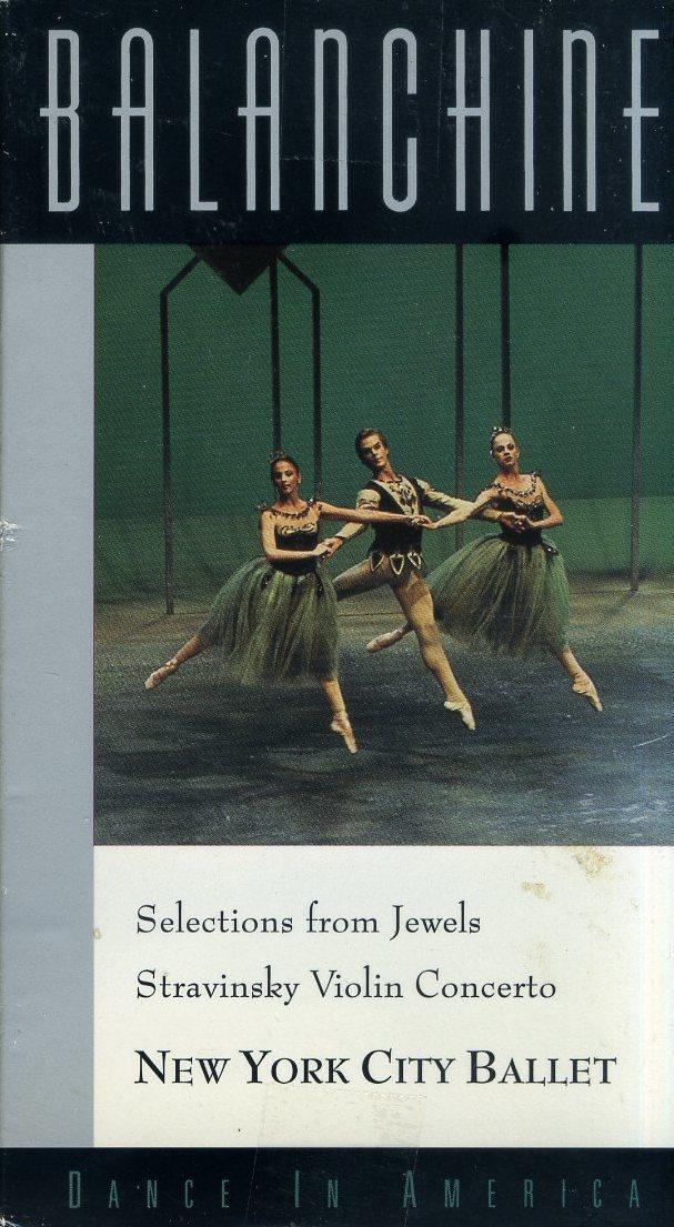 即決〈同梱歓迎〉VHS Balanchine Selections From Jewels 冊子付 バレエ バランシンセレクション◎その他ビデオDVD多数出品中∞3607_画像1