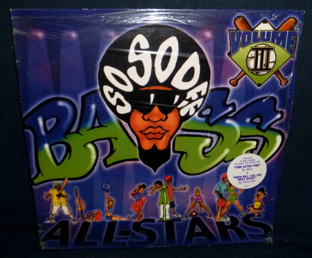 ♪ Various - So So Def Bass All-Stars Vol. III / 2 × Vinyl, LP, 1998 USオリジナル盤_画像1