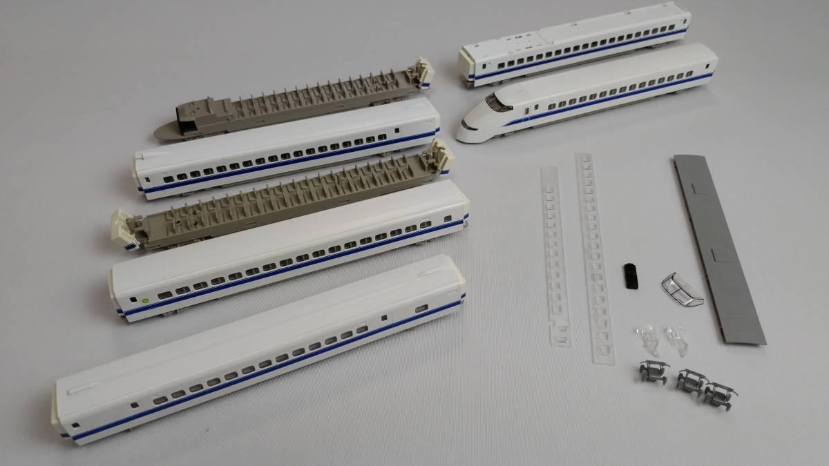 【貴重】Nゲージ クラフト・エス 500系900番台新幹線試験車 WIN350 レジンキット +おまけ_画像5
