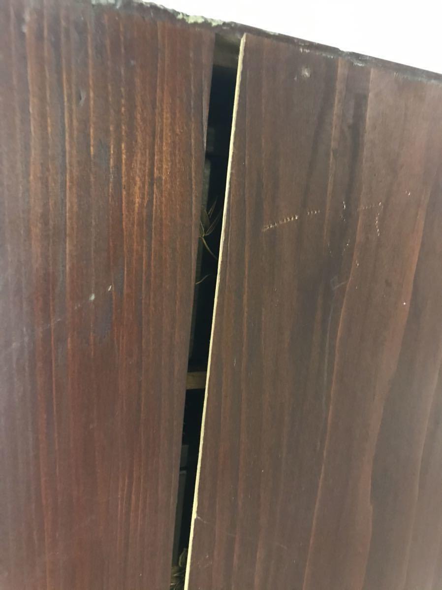 1203-1 蔵出し 米沢旧家排出品 時代物 黒漆 金蒔絵 五段重 元箱付き 中古現状品_画像8