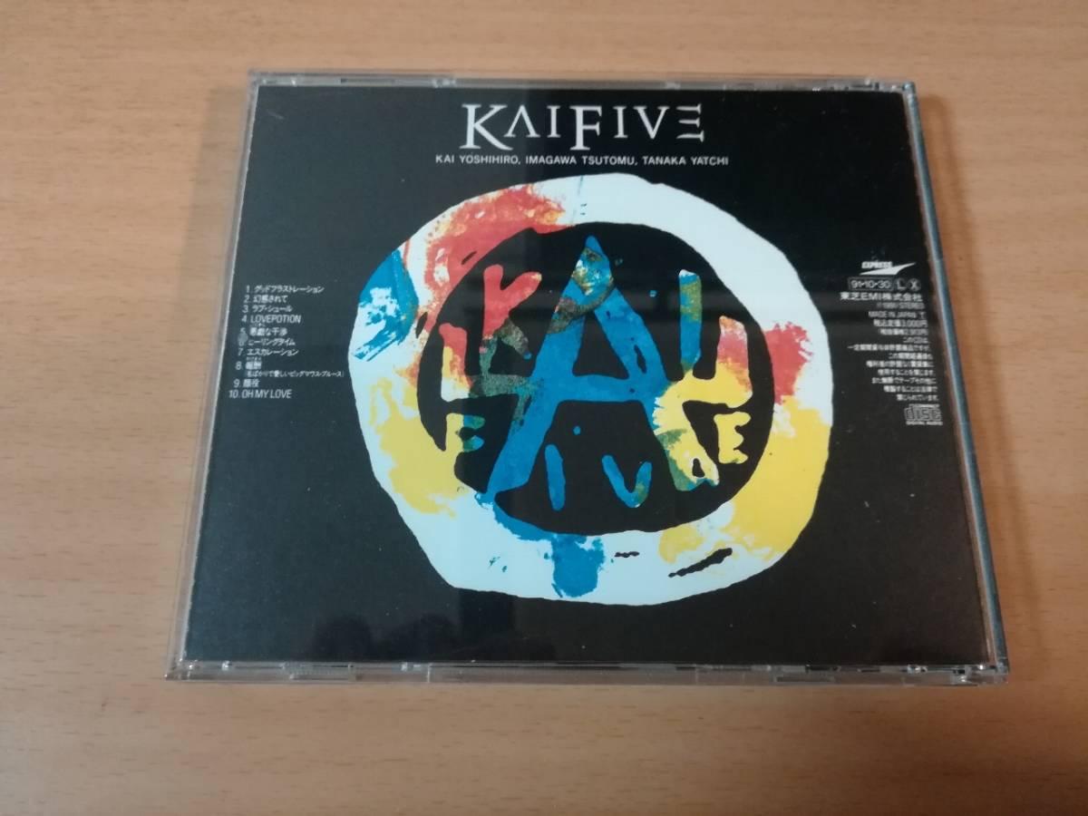 KAI FIVE CD「幻惑されて」甲斐よしひろ●_画像2