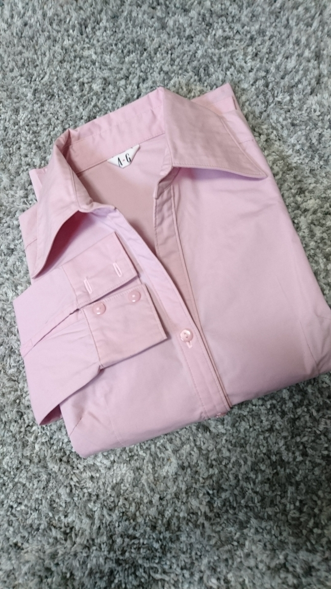 A.G シャツ ブラウス レディース トップス カットソー 長袖 スーツ 長袖シャツ