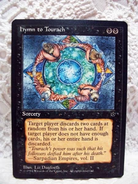 MTG hymn to Tourach 英語版_画像1