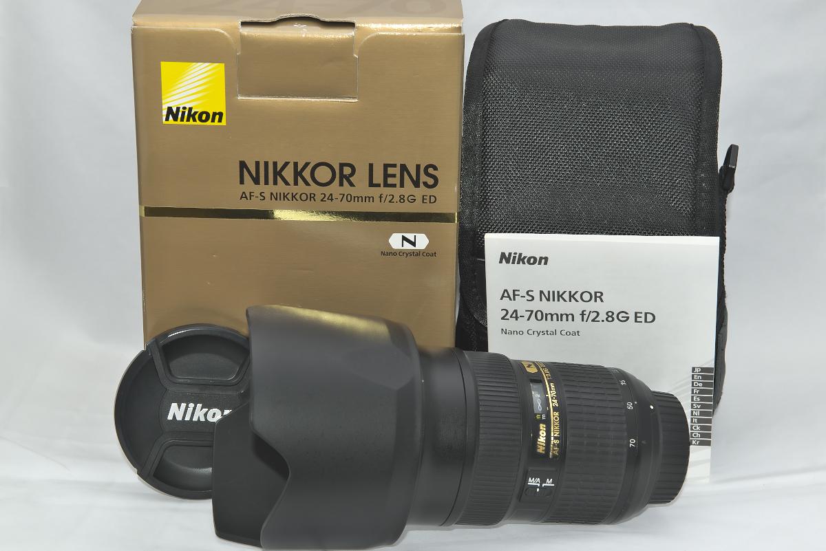 Nikon ED AF-S NIKKOR 24-70mm F2.8G