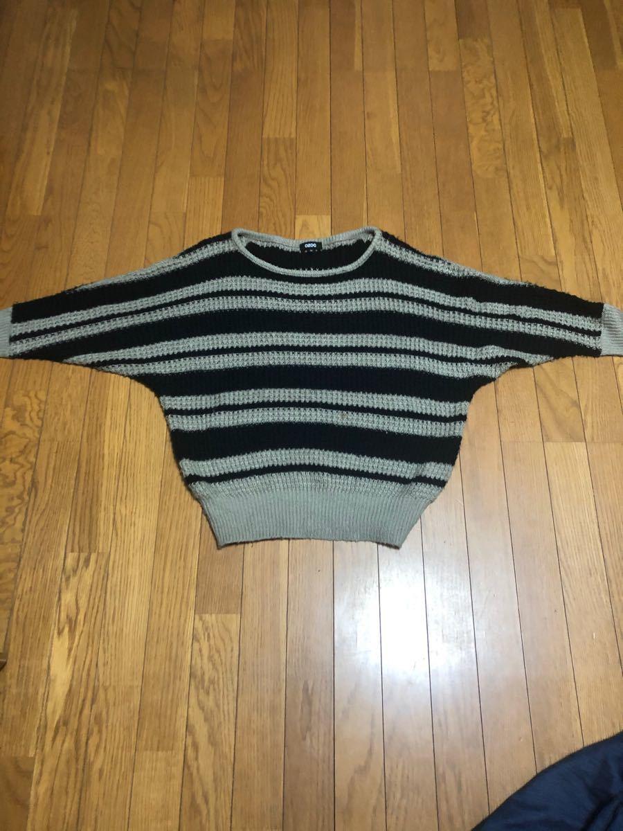 ドルマンニットセーター