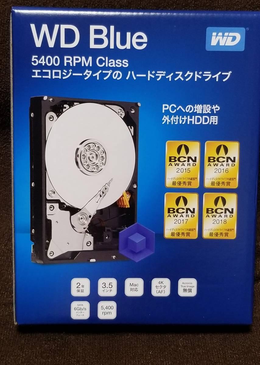 新品未開封 4TB HDD WD Blue WD40EZRZ-RT2 WESTERN DIGITAL SATA