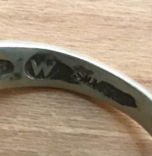 猫 ネコ キャット CAT シャム 動物 アニマル シルバー silver 銀製 925 スターリング ペンダント ネックレス トップ ヘッド リング 指輪_画像7