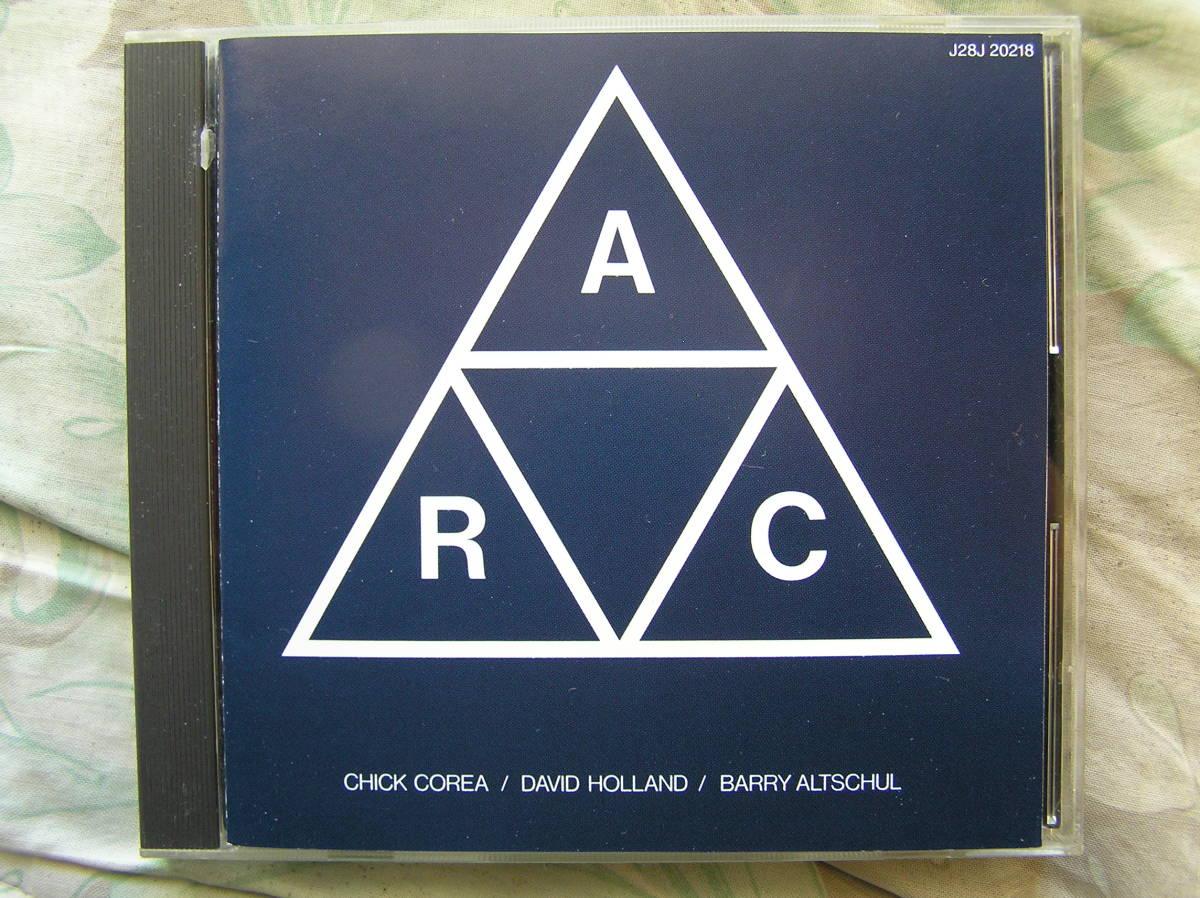 ◇チック・コリア & デイヴ・ホランド & バリー・アルトシュル / A.R.C ※盤面きれいです。■マイルス・デイヴィス・バンド脱退直後の録音_画像1