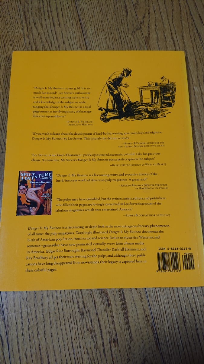 洋書 Lee Server【Danger Is My Business: Pulp Magazines/1896-1953】戦前イラスト ポスター 画集 オールディーズ ロカビリー アメコミ_画像7
