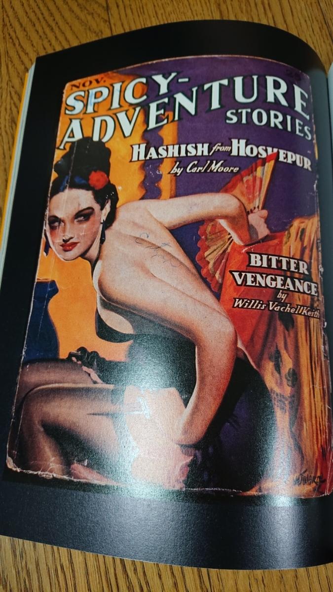 洋書 Lee Server【Danger Is My Business: Pulp Magazines/1896-1953】戦前イラスト ポスター 画集 オールディーズ ロカビリー アメコミ_画像4