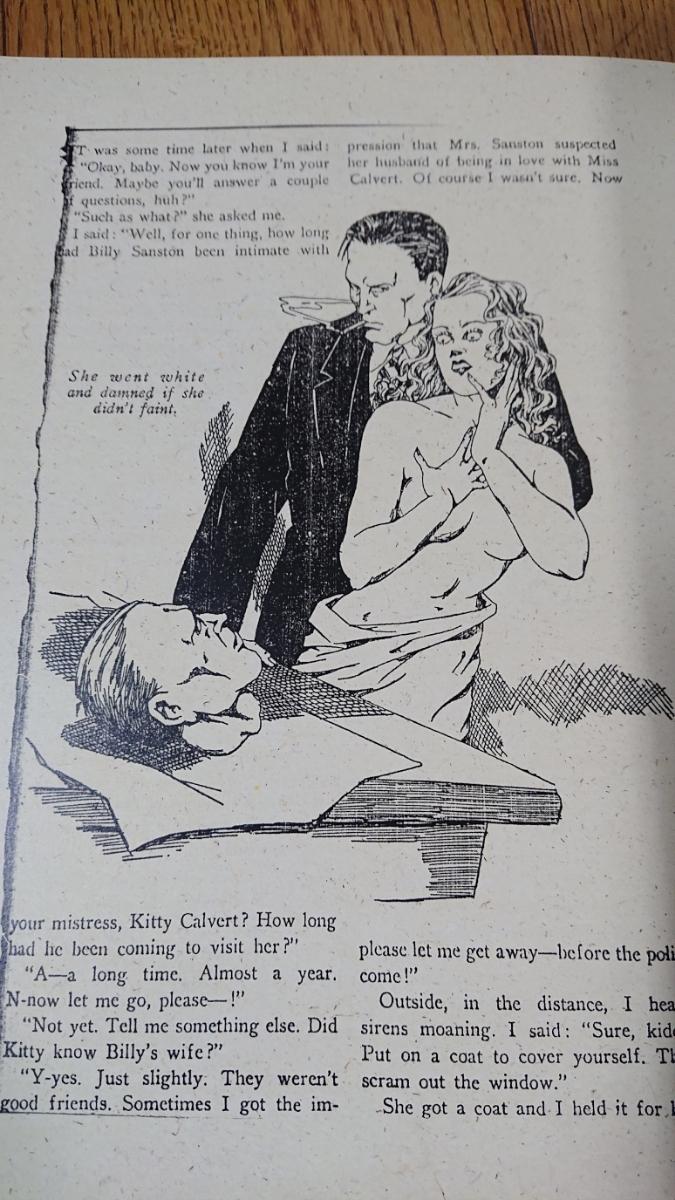 洋書 Lee Server【Danger Is My Business: Pulp Magazines/1896-1953】戦前イラスト ポスター 画集 オールディーズ ロカビリー アメコミ_画像6