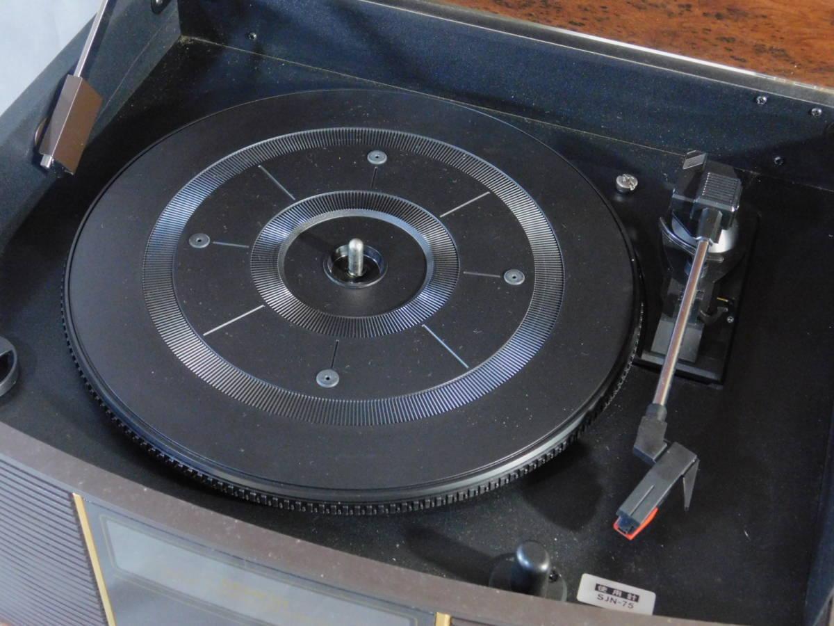 DENON(デノン)GP-S30 卓上レコードプレーヤー ターンテーブル 音聴箱(オトギバコ)通電確認済 音響機器 s19110301_画像7
