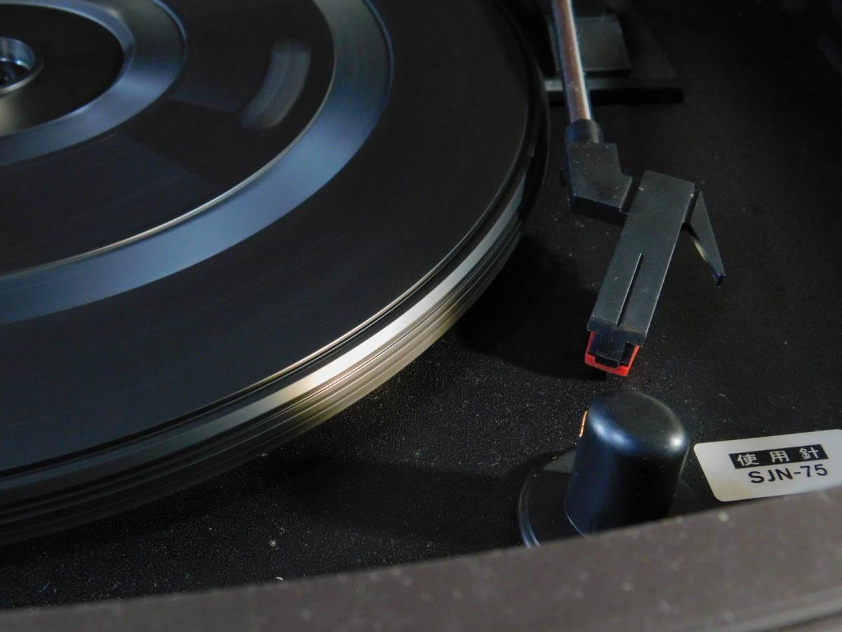 DENON(デノン)GP-S30 卓上レコードプレーヤー ターンテーブル 音聴箱(オトギバコ)通電確認済 音響機器 s19110301_画像9