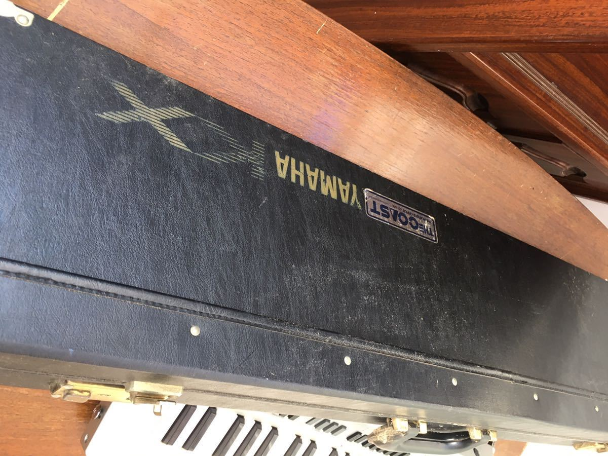 ジャンク 動作未確認 YAMAHA リモートキーボード KX5 ヤマハ ショルダーキーボード _画像6