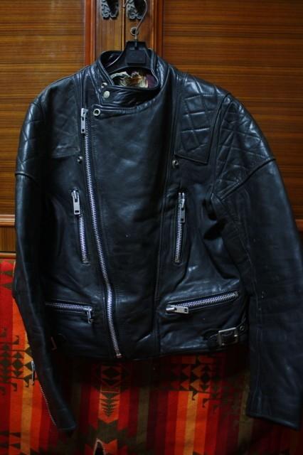 ウルフレザー 希少 プチカスタム イギリス製 70s ビンテージ UK ロンジャン レザー ライダース ジャケット ■ルイスレザー 40s 50s Schott