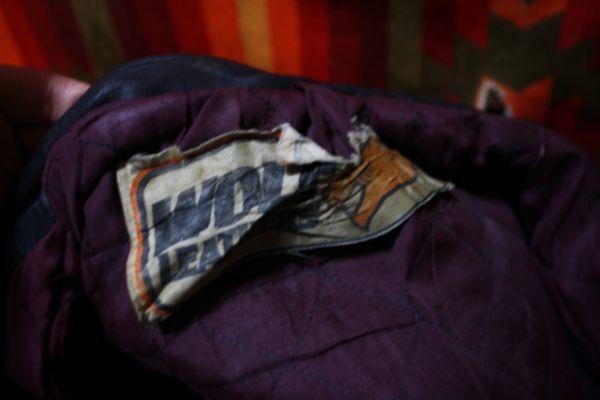 ウルフレザー 希少 プチカスタム イギリス製 70s ビンテージ UK ロンジャン レザー ライダース ジャケット ■ルイスレザー 40s 50s Schott_画像6