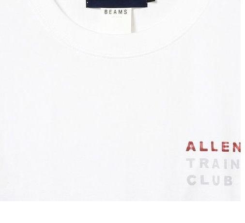 送料¥370~ テラハ テラスハウス 渡邉香織 foxco x BEAMS T コラボ ALLEN TRAINING CLUB Tee シャツ size: L 新品 即発送可 他多数出品中_画像3
