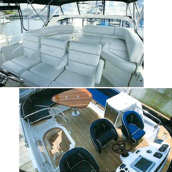 【マリン専用レザー生地】船舶・ボートの内装ジェットスキーシート用_画像3