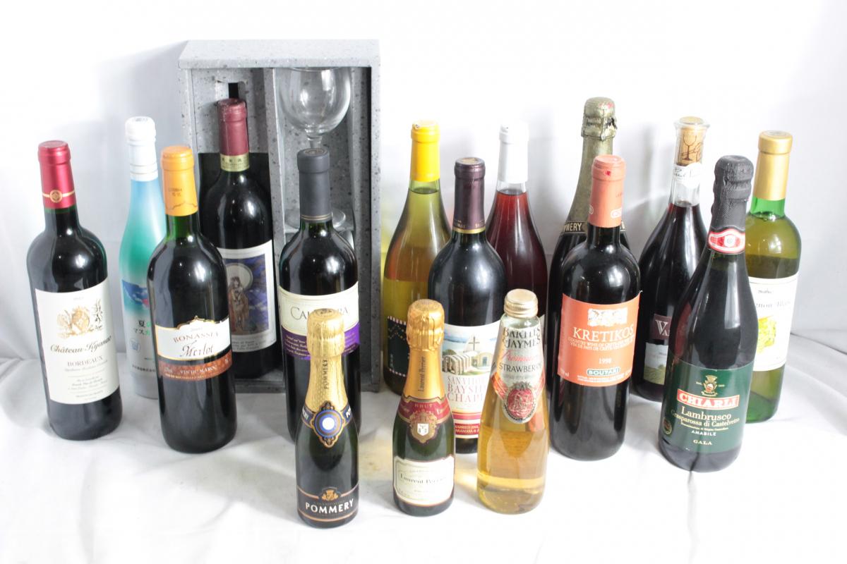 06ZOO お酒 まとめ ワイン 赤 白 ロゼ シャンパン 古酒 セット