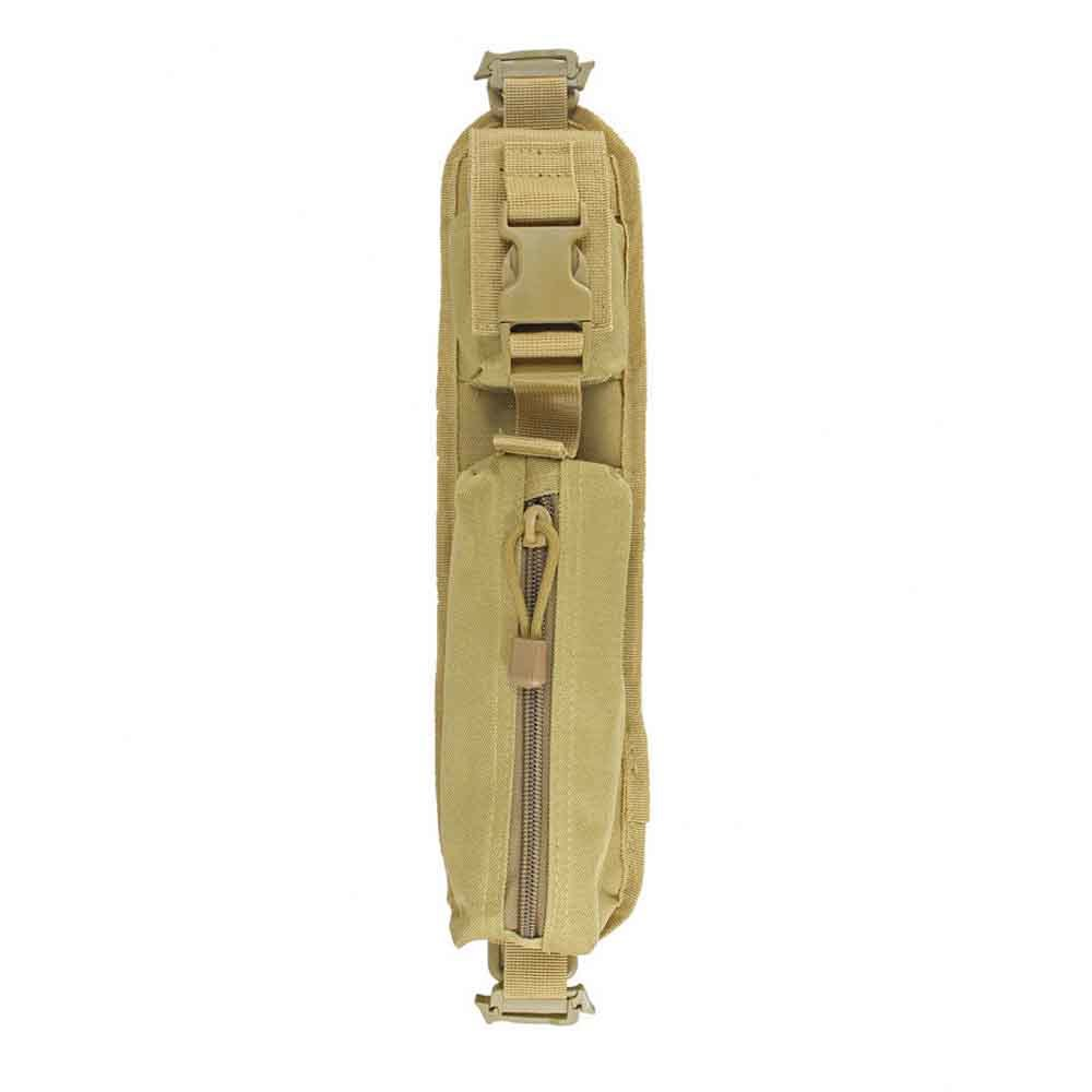ミリタリー バッグパック タクティカル・アクセサリー ショルダーパッドポーチ モールシステム対応 カラー:タン レア商品_画像2