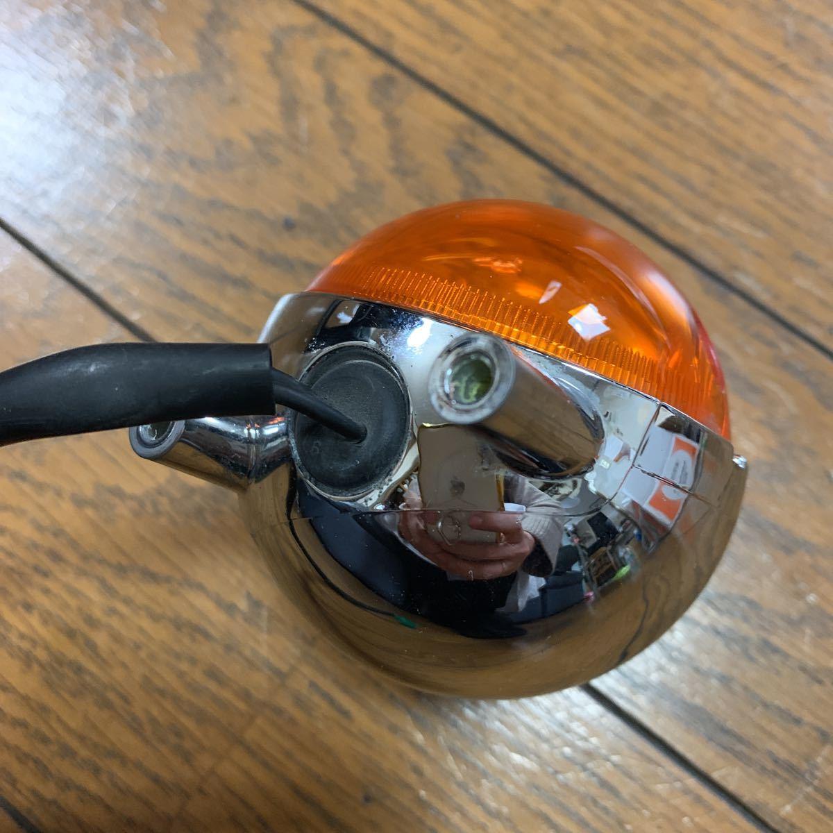 【送料無料】 ビーノ SA26J 純正品 リア ウインカー 右 点灯確認OK ヤマハ_画像3