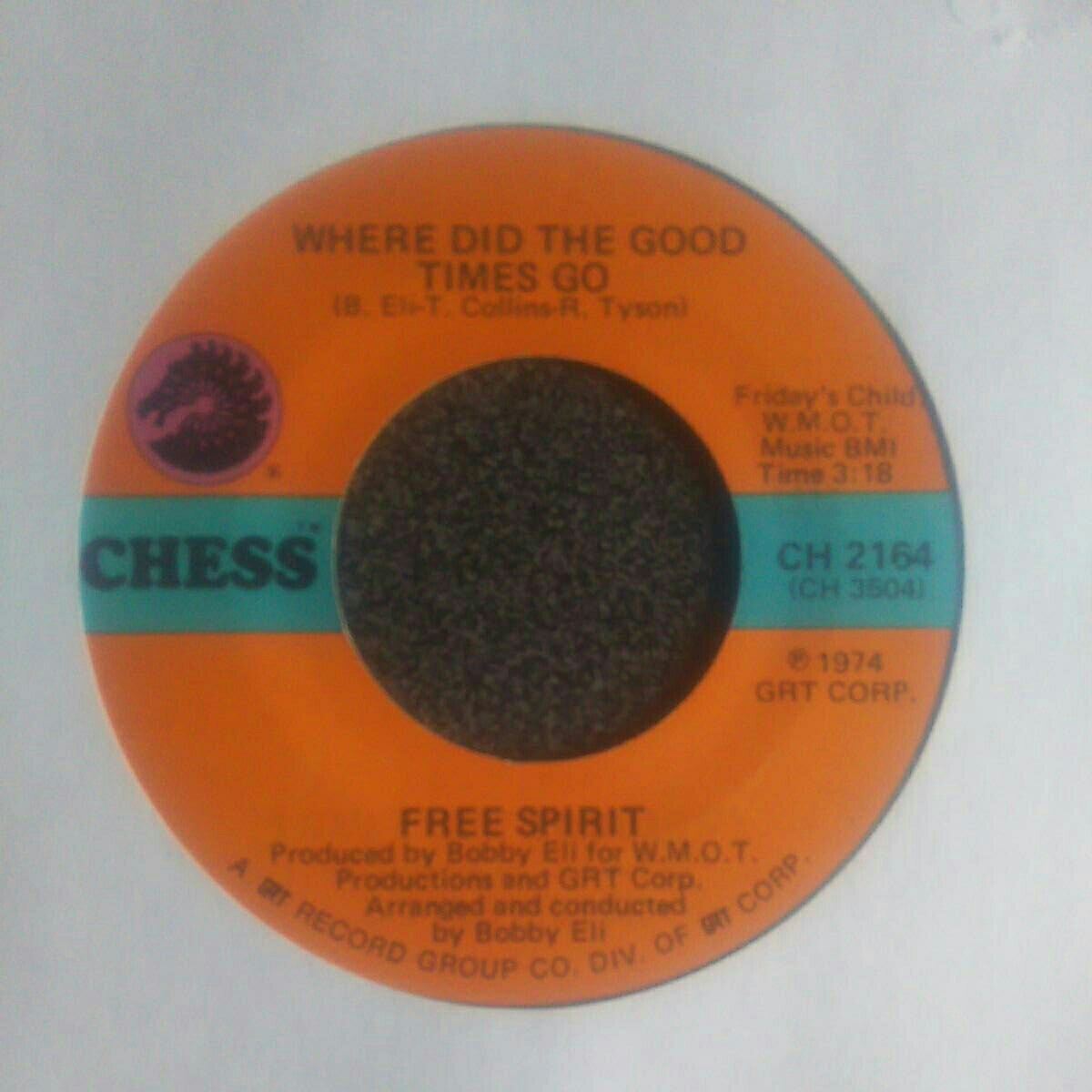 Free Spirit-Mister Fixit Man/Where Did The Good Time Go(Chess 2164)_画像4