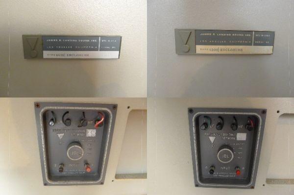 【黒檀堂】大阪市~ JBL スピーカーシステム MODEL 4320/4502 STUDIO MONITOR ペア 動作品/ 直接引取り大歓迎_画像9