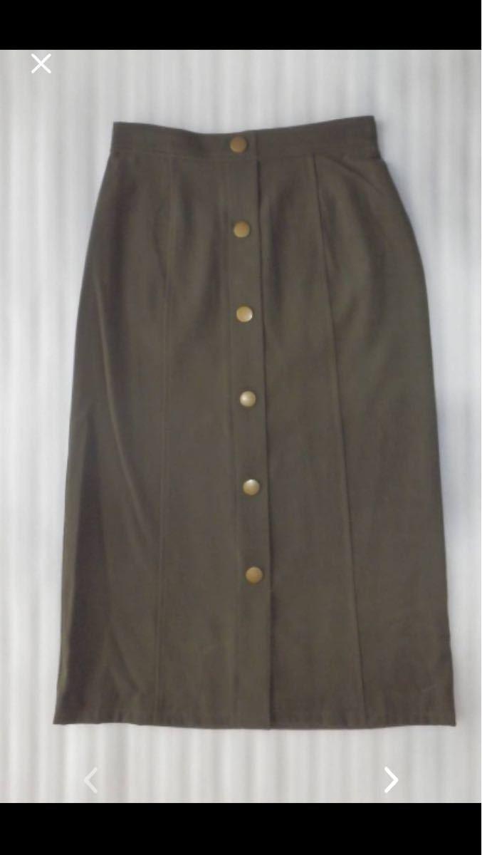 セシルマクビーCECIL McBEE  タイトスカート  カラー:カーキ