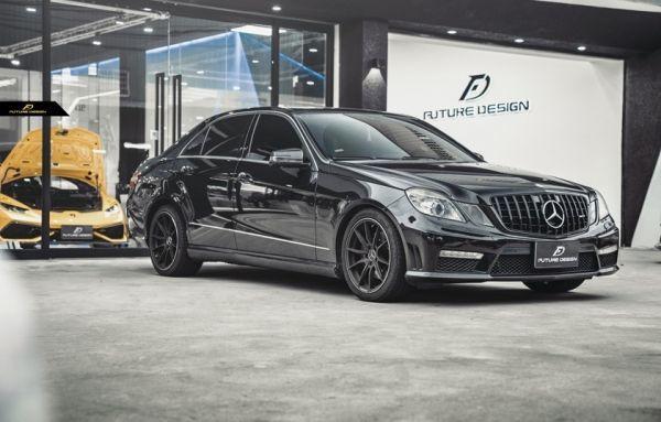 ●ベンツ W212/S212 前期Eクラス用AMGタイプ艶黒パナメリカーナグリル/ラジエターグリル/センターグリル/GTグリル/E220/E350/E300/E550/E63_画像6