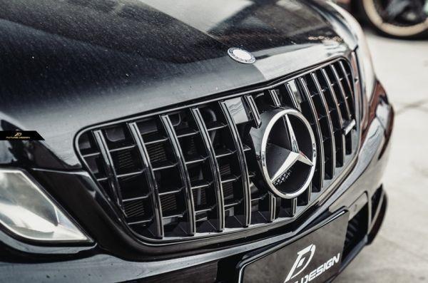 ●ベンツ W212/S212 前期Eクラス用AMGタイプ艶黒パナメリカーナグリル/ラジエターグリル/センターグリル/GTグリル/E220/E350/E300/E550/E63_画像1