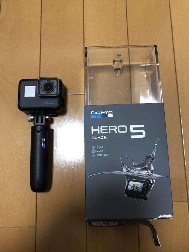 【ほぼ新品】Go pro HERO5 Black 付屬品多數