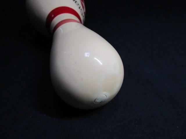 送料無料 禁煙環境で保管 昭和レトロ ボーリングのピン 本物 予備ストック品