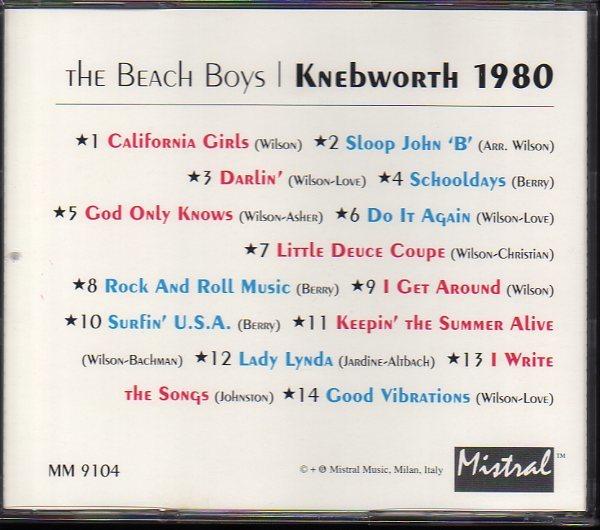 ザ・ビーチ・ボーイズ/The Beach Boys「Knebworth 1980」