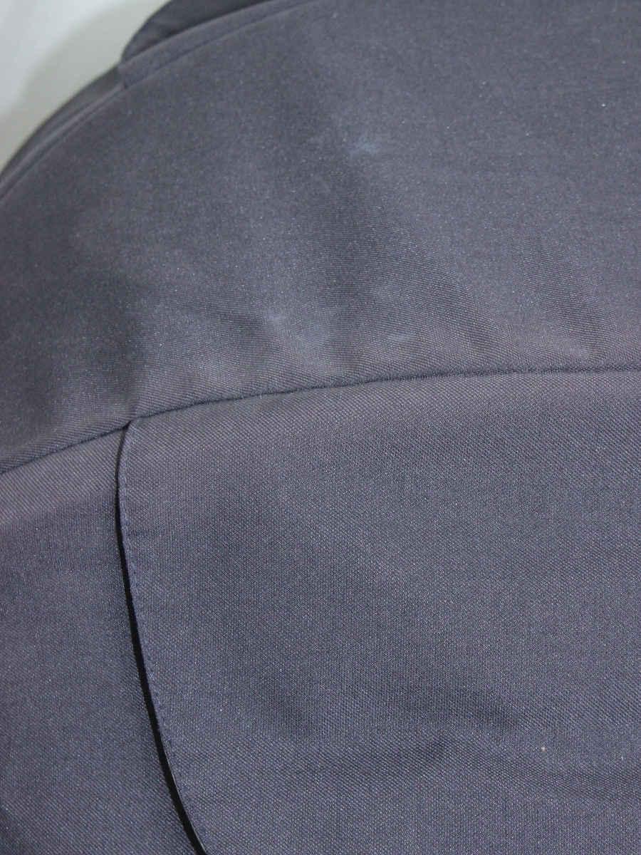 コンビ ベビーカー ホワイトレーベル メチャカル ハンディα エッグショック MC-400 レインカバー付き A型 ノワールバトー(LB)_画像9