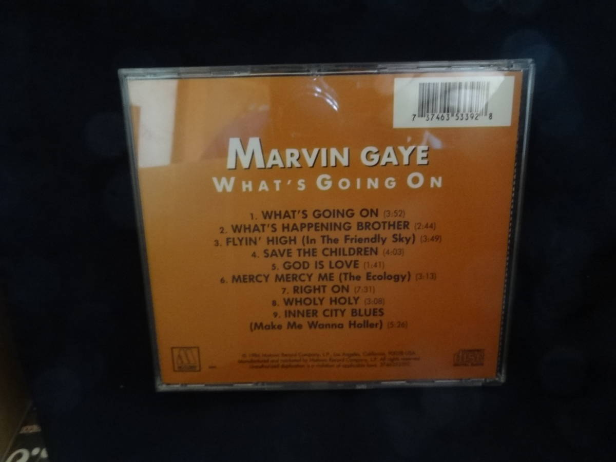 ☆Marvin Gayeマーヴィン・ゲイ/What's Going on 輸入盤CD _画像2