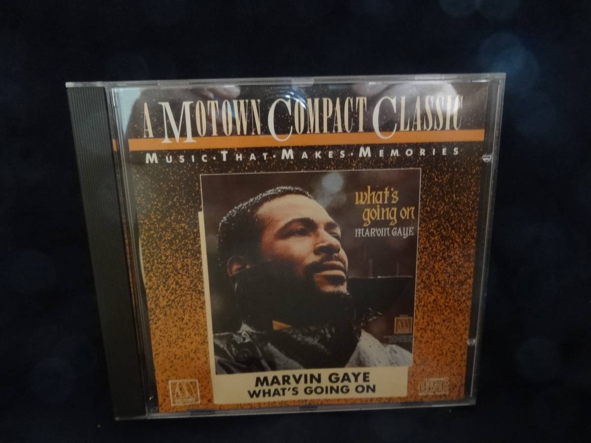 ☆Marvin Gayeマーヴィン・ゲイ/What's Going on 輸入盤CD _画像1
