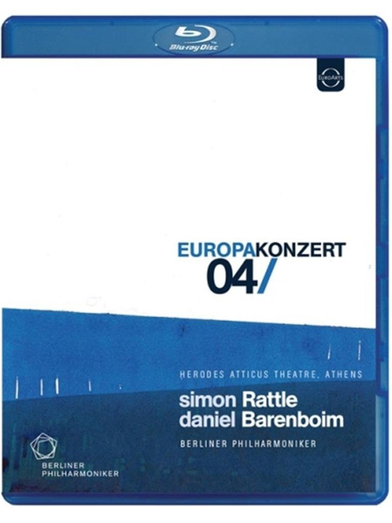 ラトル/ベルリン・フィル ヨーロッパ・コンサート2004 ブルーレイ新品