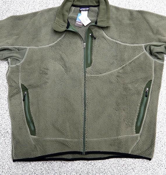 新品 XXL 米軍実物 patagonia 2006年 LEVEL3 R2 ジャケット スペシャル アルファグリーン MARS レベル3 PCU フリース ⑧_画像7