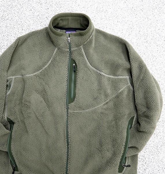 新品 XXL 米軍実物 patagonia 2006年 LEVEL3 R2 ジャケット スペシャル アルファグリーン MARS レベル3 PCU フリース ⑧_画像6