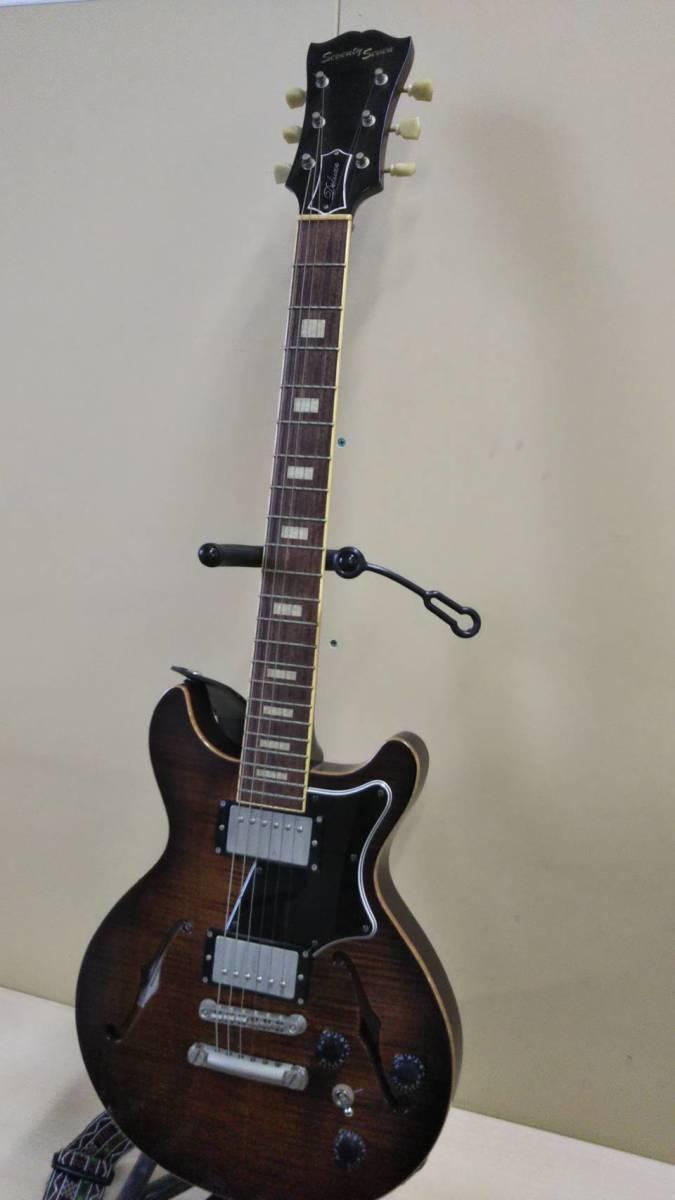 seventy seven エレキギター ハードケース付き