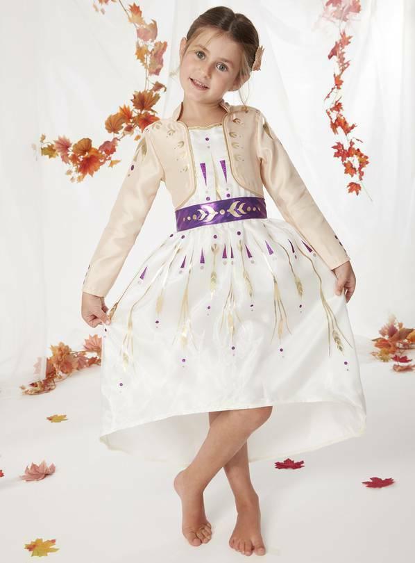 海外 限定品 アナと雪の女王2 子供用 コスチューム ドレス サイズ各種 10