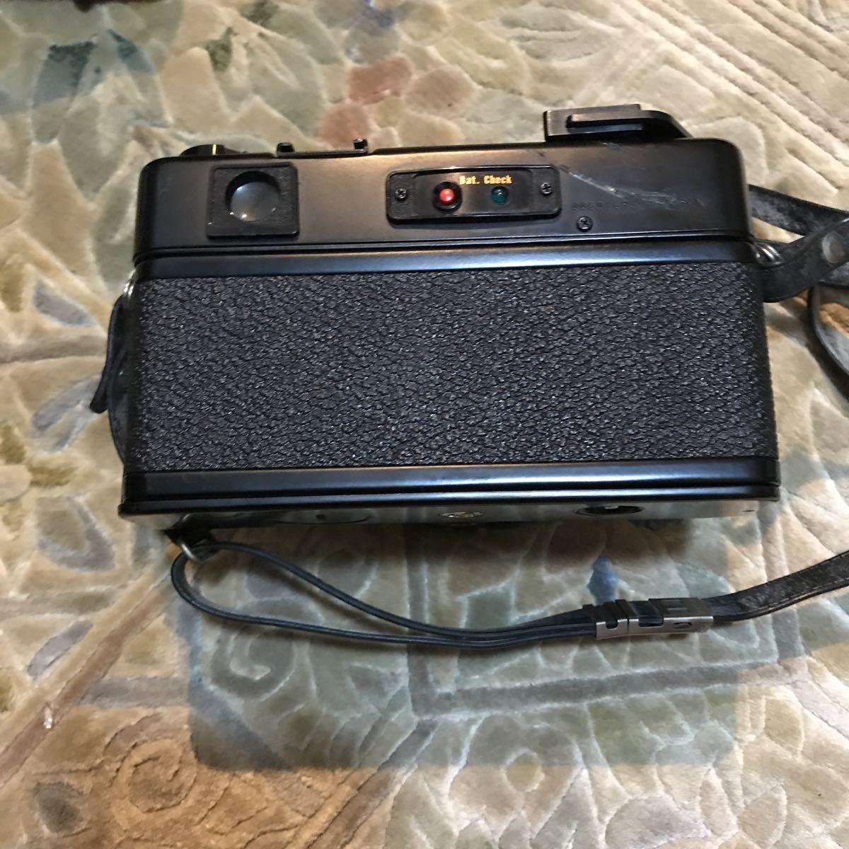 Yashica Electro 35 GT ブラック ヤシカ エレクトロ 35 レンジファインダー 一眼レフ フィルムカメラ_画像7