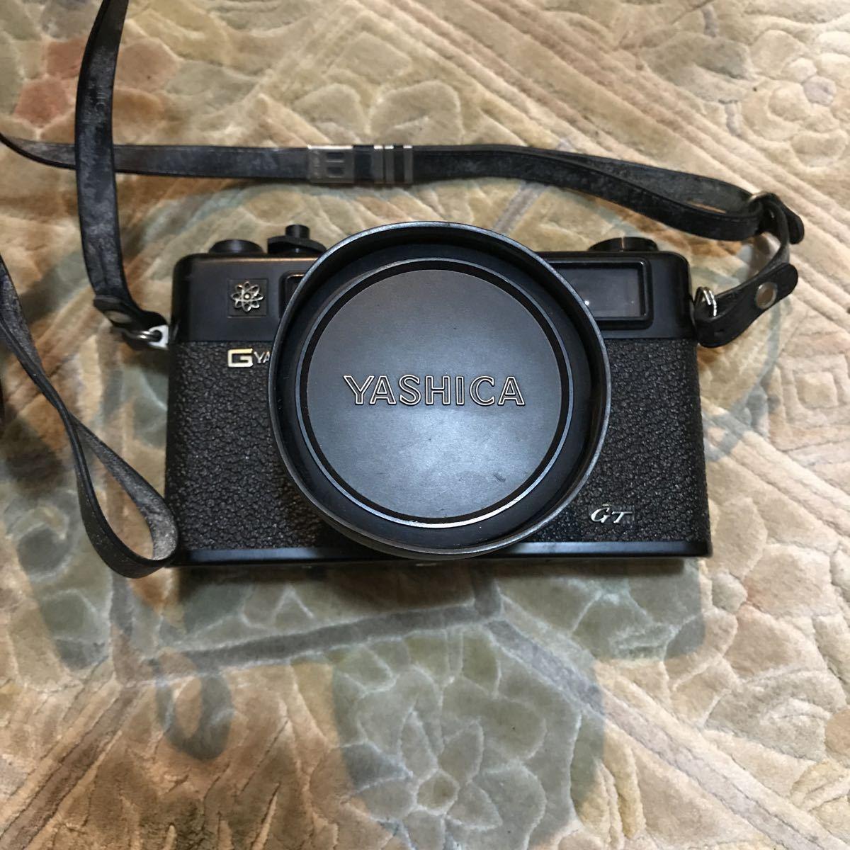 Yashica Electro 35 GT ブラック ヤシカ エレクトロ 35 レンジファインダー 一眼レフ フィルムカメラ_画像2